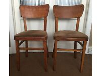2 Small Vintage Chairs £10
