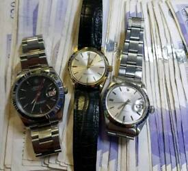 Watches Wanted Rolex, Omega, Breitling , Tag ETC
