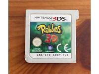 Rabbids 3D * cart only * Nintendo 3ds, 2011
