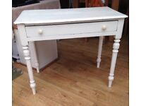 Beautiful shabby chic dressing table/ consol