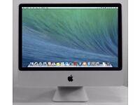 Apple iMac 24' 2.66Ghz 8Gb Ram 640GB Cubase Pro Tools Ableton 9 Native Instruments Massive Absynth