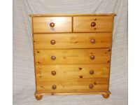2 Solid Pine Bedroom Units in excellent condition.