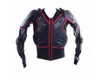 Rk Sports Kids Motorcross Armored Body Armour Motorcycle Was £89.99