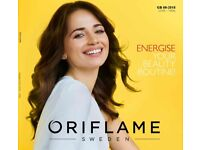 Free Oriflame E-catalogue valid until 13/06/2018