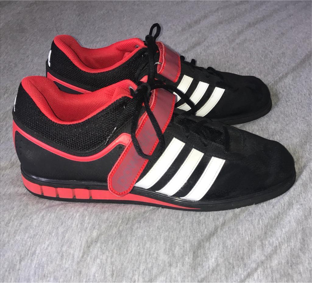 Adidas weightlifting shoes (UK 11)