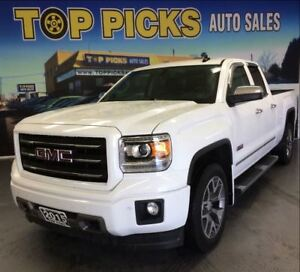 2015 GMC Sierra 1500 SLT, ALL TERRAIN, LEATHER, NAVI, 20'S!