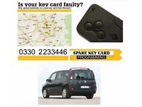 Renault Megane Scenic Clio Laguna Espace key card replacement Manchester Leeds Stockport