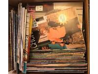 Large quantity of stitch craft mags