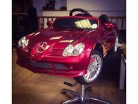 Kids Barber / Hairdressers Convertible Mercedes Car Chair