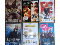 DVDs films, DVD discs, Movies. 37 available.