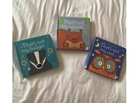 3 NEW That's not my books - Thats not my owl, squirrel and badger