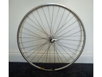 Road Bike Mavic 700c Open Sport front wheel.