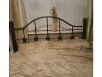 metal double bed frame