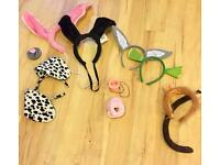 Fancy Dress Animal and Shrek Headbands