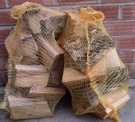 Logs Hardwood £3 per Large Net Bag Approx 7kg