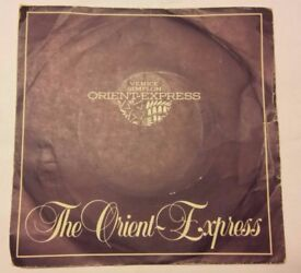 Vinyl 45 rpm single of The Orient Express.