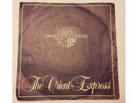 Vinyl 45 rpm single of The Orient Express.