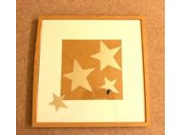 Ikea picture in wood frame 52.5 cm *52.5 cm - Mirror Stars