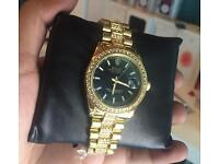 Iced out Rolex diamond