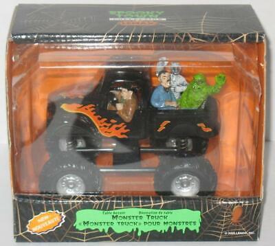 Halloween Town Monster (Spooky Town Monster Truck 93717 Halloween Village 2009 Lemax NIB Mummy)