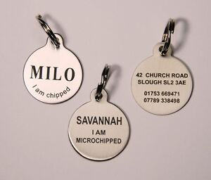 Engraved Dog Tags For Pets Uk
