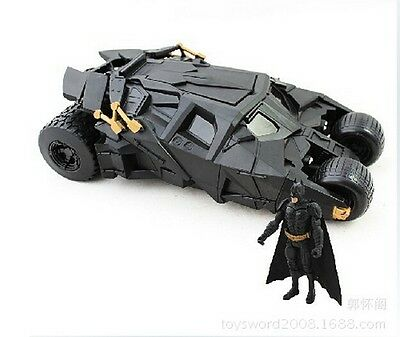 BATMAN The Dark Knight With Figure Toys BATMOBILE Doll Tumbler Vehecle