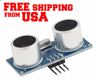 2x Ultrasonic Module Hc-sr04 Distance Measuring Transducer Sensor For Arduino