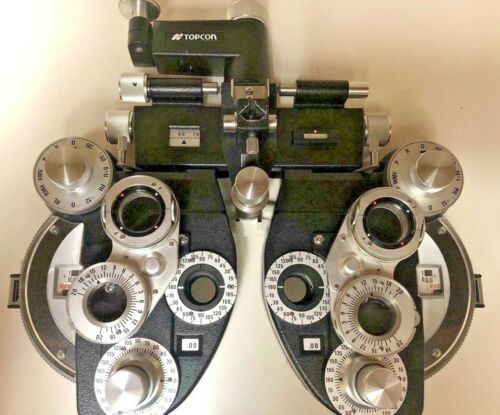 Topcon VT-10 Plus (+) Cylinder Phoropter, Great Condition Ophthalmology Refract