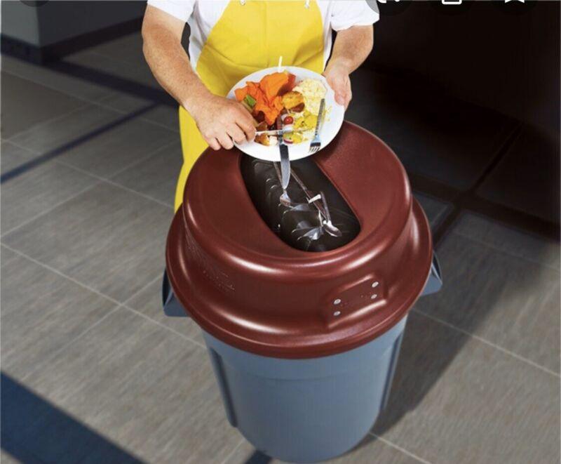 KatchAll 55 Gallon Round Flatware Retriever (New Open Box)