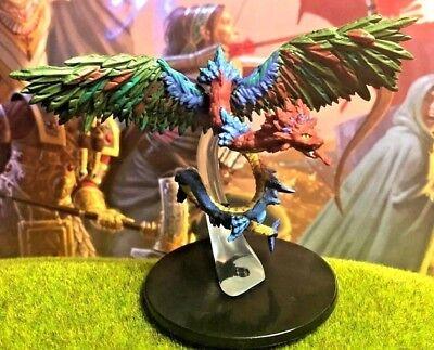 Couatl D&D Miniature Dungeons Dragons pathfinder jungle druid bird celestial Z