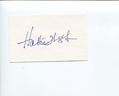 Hattie Winston Homefront Jackie Brown Becker Electric Company Signed Autograph