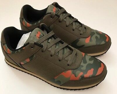 New Dada Supreme Men's Sneakers Athletic Lace up Shoes 9 MED Camo Olive DS1007 for sale  Shipping to Canada