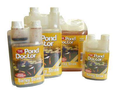 Barley Water Treatment (Barley Straw Extract - TAP Pond Doctor, Koi, Green Water Treatment, Algae, Fish )
