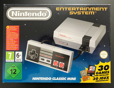 NINTENDO CLASSIC MINI Console HDMI + 30 Games NES super mario castelvania zelda