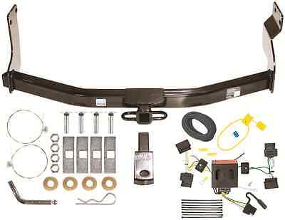 08-11 MAZDA TRIBUTE TRAILER HITCH W/ WIRING KIT ~ CLASS II 1-1/4