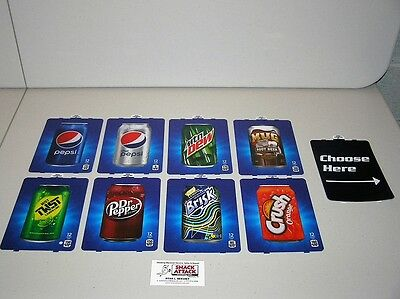 9 Dixie Narco 276e 501e Hvv Soda Vending Machine Can Vend Label Kit