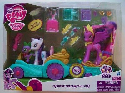 My Little Pony Princess Celebration Car NEW twilight sparkle rarity spike dragon