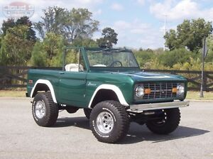 Looking for 1966-1977 Ford Bronco