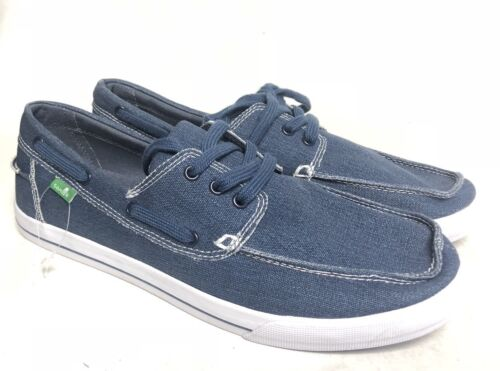 the sea man navy blue washed lace
