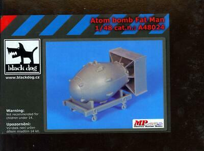 Black Dog 1//48 Fat Man Atom Bomb Resin Kit