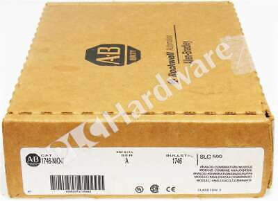 New Allen Bradley 1746-nio4i Series A 1746-n1041 Slc 500 Analog Output 22 Io