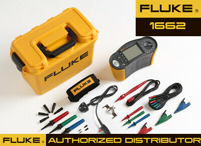 Fluke 1662 Multifunction Installation Tester - Best Seller Electrical Test Meter