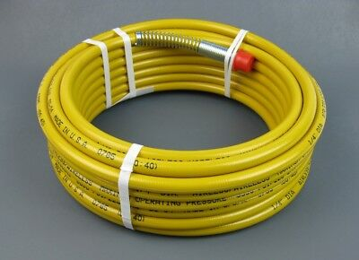 Wagner Procoat 0523044 Or 523044 Airless Spray Hose 14 X 35 Yellow Or Maroon
