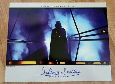 Star Wars SeeTwo Dave Prowse Darth Vader Autograph 11 x 14 Signed Photo
