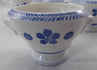 Villeroy & and Boch FARMHOUSE TOUCH BLUEFLOWER RELIEF soup / cereal bowl...