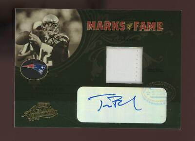 2005 Absolute Memorabilia Tom Brady 05/10 Jersey Auto Autograph