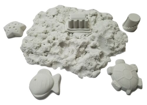 2 lb Refill White Space sand / Moon Crazy Magic Sand Mold-N-Play Kid Fun