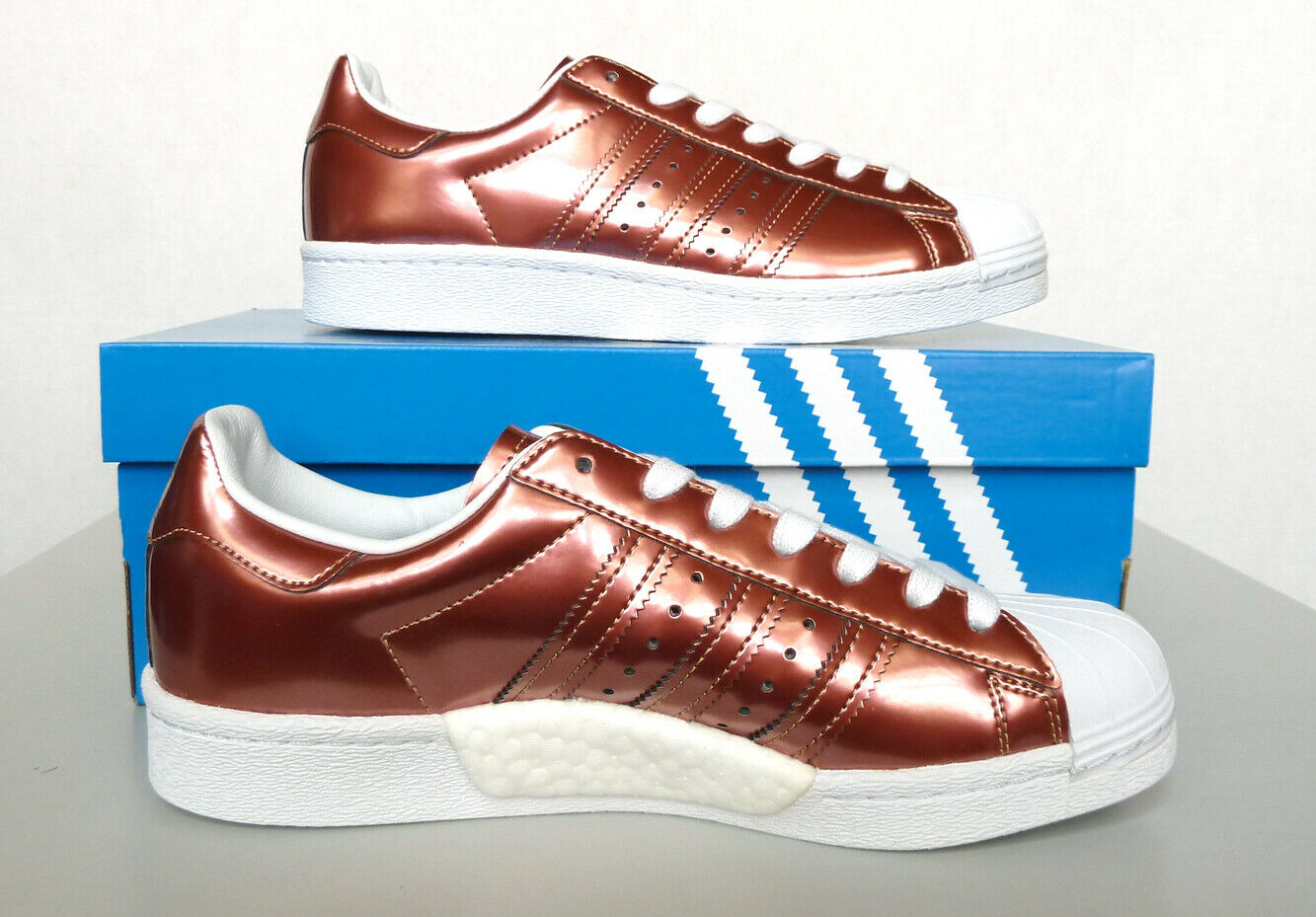 New Women`s adidas Originals Superstar Boost Shoes BB2270