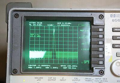 Agilent Hp 8563e Spectrum Analyzer 9khz To 26.5ghz