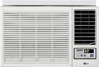 LG LW2415HR - 24,000 BTU 220V Window A/C w/ Heat: Remote & Window Vent Kit Incl.